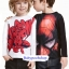 H&M : เสื้อแขนยาว สกรีนลาย Spiderman สีขาว size : 1-2y / 10-12y / 12-14y thumbnail 3
