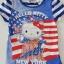 H&M : เสื้อยืดคิตตี้ ลายธงชาติ New York size : 4-6y thumbnail 2