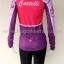 ชุดจักรยานแขนยาวขายาว Castelli 16 (02) สีชมพูม่วง thumbnail 3
