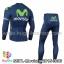 ชุดจักรยานแขนยาวทีม Movistar 15 สีน้ำเงิน thumbnail 2