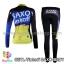 ชุดจักรยานแขนยาวทีม Tinkoff SAXO สีดำน้ำเงินเหลือง thumbnail 2