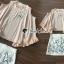 ชุดเซ็ทเสื้อ+กระโปรง+ดีเทลงานปักและเย็บเลื่อม thumbnail 6