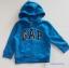 Gap : แจ็คเก็ท กันหนาวมีฮูด ซิปหน้า สีน้ำเงิน ด้านในบุผ้าสำลี Size : 12-18m / 18-24m / 2y / 3y / 4y thumbnail 1