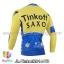 เสื้อจักรยานแขนยาวทีม Tinkoff SAXO 2014 สีเหลืองน้ำเงิน thumbnail 2