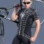 เสื้อจักรยานแขนสั้น ฺBlack Spiderman 2014 สีดำขาว สั่งจอง (Pre-order) thumbnail 3