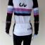 ชุดจักรยานแขนยาวขายาว Liv (01) สีขาวดำลายชมพูฟ้าดำ thumbnail 3