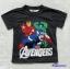 H&M : เสื้อยืด สกรีนลาย Avengers สีเทาดำ size : 6-8y thumbnail 1
