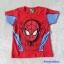 เสื้อ สกรีนลาย Spiderman สีแดง (ตรงหน้า นูนขึ้นมา ) size 90 / 100 thumbnail 1