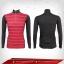 เสื้อจักรยาน แขนยาว สีเทา-แดง thumbnail 1