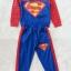 Carter's : Set เสื้อแขนยาว+กางเกงขายาว ลาย Superman สีน้ำเงิน เนื้อผ้า นิ่ม ไม่หนามาก size 1y / 2y thumbnail 1
