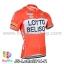 เสื้อจักรยานแขนสั้นทีม Lotto Belisol 2014 สีแดง สั่งจอง (Pre-order) thumbnail 1