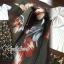 ชุดเซ็ทเสื้อ+กระโปรง เสื้อทรงสวยด้วยเสื้อยืดครอปคอวี thumbnail 7