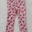H&M : กางเกงขายาว สีชมพู ลายมินนี่เมาส์ โบว์สีชมพู size : 2 (2-3y) / 4 (4-5y) / 8 (6-8y) thumbnail 1