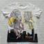 H&M : เสื้อยืดแขนสั้น สีขาว ลายสิงโต เสือ เนื้อผ้านิ่ม งานช้อป size : 8-10y thumbnail 1