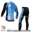 ชุดจักรยานแขนยาวทีม Castelli 14 สีฟ้าขาวดำ thumbnail 2