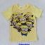 H&M : เสื้อยืด สีเหลือง สกรีนลายมินเนียน size 1.5-2y thumbnail 1
