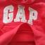 Gap : กันหนาว Gap แบบสวมมีฮูด สีแดง Size 12-18m thumbnail 3