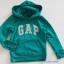 Gap : กันหนาวแบบสวม สีเขียว ( ใส่ได้ทั้ง ชาย-หญิง) size 6-7y thumbnail 1