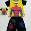 MARVEL : set เสื้อสีเหลือง + กางเกง spider man มีไฟ thumbnail 1