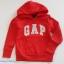 Gap : กันหนาวแบบสวม สีแดง ( ใส่ได้ทั้ง ชาย-หญิง) size 6-7y thumbnail 1