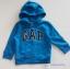 Gap : แจ็คเก็ท กันหนาวมีฮูด ซิปหน้า สีน้ำเงิน ด้านในบุผ้าสำลี Size : 12-18m / 18-24m thumbnail 1