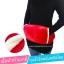 พร้อมส่ง warming waist belt เข็มขัดรัดเอว กำมะหยี่ แดง พร้อมถุงน้ำร้อนไฟฟ้าเกรดพรีเมี่ยม thumbnail 2