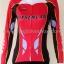 ชุดจักรยานแขนยาวขายาว Mysenlan 16 (01) สีชมพูบานเย็นดำ thumbnail 6