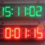 นาฬิกาดิจิตอลLED 3นิ้ว 6หลัก thumbnail 1