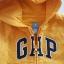 Gap : แจ็คเก็ท กันหนาวมีฮูด ซิปหน้า สีเหลือง Size : 18-24m thumbnail 3