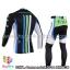 ชุดจักรยานแขนยาวทีม Cannondale 14 สีดำขีดขาวเขียวฟ้า สั่งจอง (Pre-order) thumbnail 2