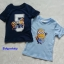 H&M : เสื้อยืดแขนสั้นสกรีนลาย Minion (งานช้อป) สีน้ำเงิน ตัวซ้าย Size : 1.5-2y thumbnail 3