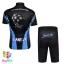 ชุดจักรยานเด็กแขนสั้นขาสั้น CheJi สีดำฟ้า thumbnail 2
