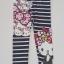 H&M : เลกกิ้ง สกรีนลายขวาง คิตตี้ สีกรม size : 2-4y / 8-10y thumbnail 1