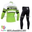 ชุดจักรยานแขนยาวทีม Scott 14 (01) สีเขียวขาว สั่งจอง (Pre-order) thumbnail 2