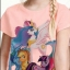 H&M : เสื้อยืดสกรีนลายม้าโพนี่ สีชมพู size : 1-2y thumbnail 2