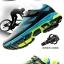 รองเท้าจักรยานเสือภูเขาแบบผ้าใบ TIEBAO รุ่น TB22-B1406 สีดำเทาส้ม thumbnail 4