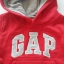 Gap : กันหนาว Gap แบบสวมมีฮูด สีแดง Size 12-18m thumbnail 2