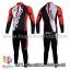 ชุดจักรยานแขนยาวทีม Giant 15 สีแดงขาวดำ (02) thumbnail 3
