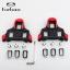 คลีทติดรองเท้าจักรยานเสือหมอบ TIEBAO สีดำแดง (ทรงยาว) thumbnail 1