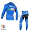ชุดจักรยานแขนยาวทีม Italia 16 สีฟ้า thumbnail 2