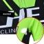 ชุดจักรยานเด็กแขนสั้นขาสั้น CheJi สีเขียวดำ thumbnail 11