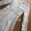 White Lace Dress Lady Ribbon ขายเดรสผ้าลูกไม้ thumbnail 5