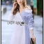 Shirt Dress Lady Ribbon ขายเชิ้ตเดรส thumbnail 1