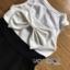 T-Shirt Set Lady Ribbon เซ็ตจัมป์สูทสีขาว thumbnail 6