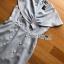 Dress Lady Ribbon เดรสผ้าสูท thumbnail 6