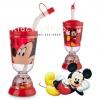 แก้วน้ำเด็กทรงโดม Mickey Mouse พร้อมหลอด [Disney USA]