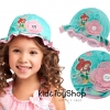 หมวกกันแดดสำหรับเด็ก ลาย ariel size s 3-5 ขวบ