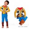 ชุดนอนเด็กชายแขนยาวขายาว Sheriff Woody Costume ไซต์ 6 115cm