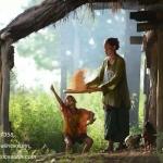 การฝัดข้าวเป็นอีกหนึ่งวิถีชีวิตชาวนาไทย
