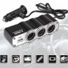 Car USB TWIN Socket WF-0120